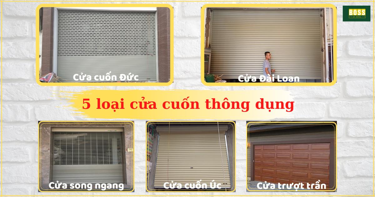 cửa cuốn ở Đà Nẵng Việt Nam