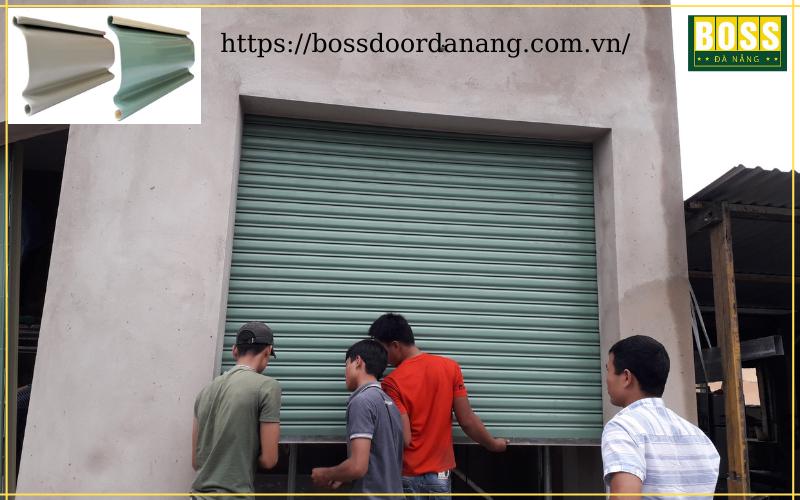 cửa cuốn giá rẻ tại Đà Nẵng cửa kéo tay
